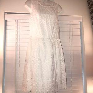 Cynthia Rowley gorgeous white dress💕